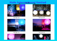 Dimmable Pink Blue RGBW Inflatable LED Light With Durable DMX512 Controler