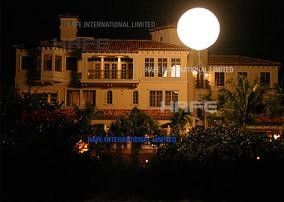 2.5 M Decoration Helium Sphere Balloons With Led Lights Colorful For Business Advertising