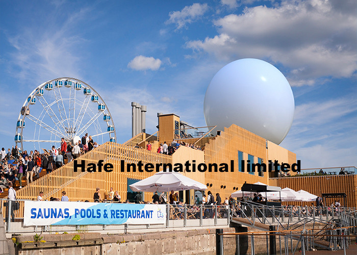 Gaint 9m Inflatable Advertising Balloon For Famous View Of City Events Decoration